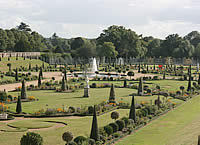 Gardens at Hampton Court