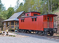 The Caboose at Station 451