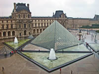 The Lourve in Paris