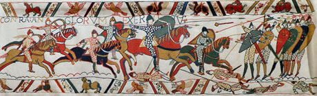 section of the Bayeux Tapestry