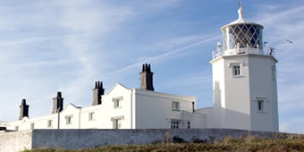 Lizard Lighthouse and cottages